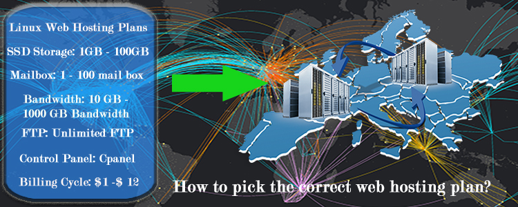 How to pick the correct affordable France web hosting plan?